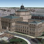 Library of Congress in Google Earth